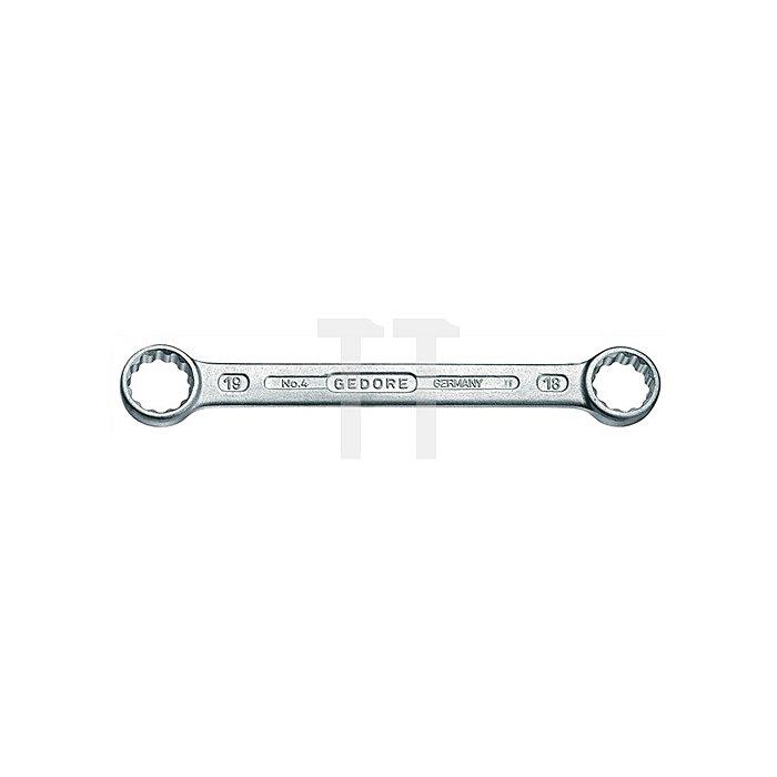 Doppelringschlüssel SW12x13mm DIN837 GEDORE ISO3318/1085