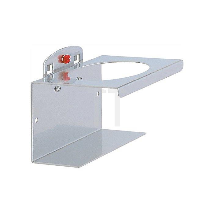 Dosenhalter 1fach B./D.100/70mm f.Lochplattensystem