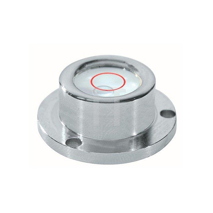 Dosenlibelle D.25mm a.Glas Metallgehäuse SOLA 3fach-Flansch