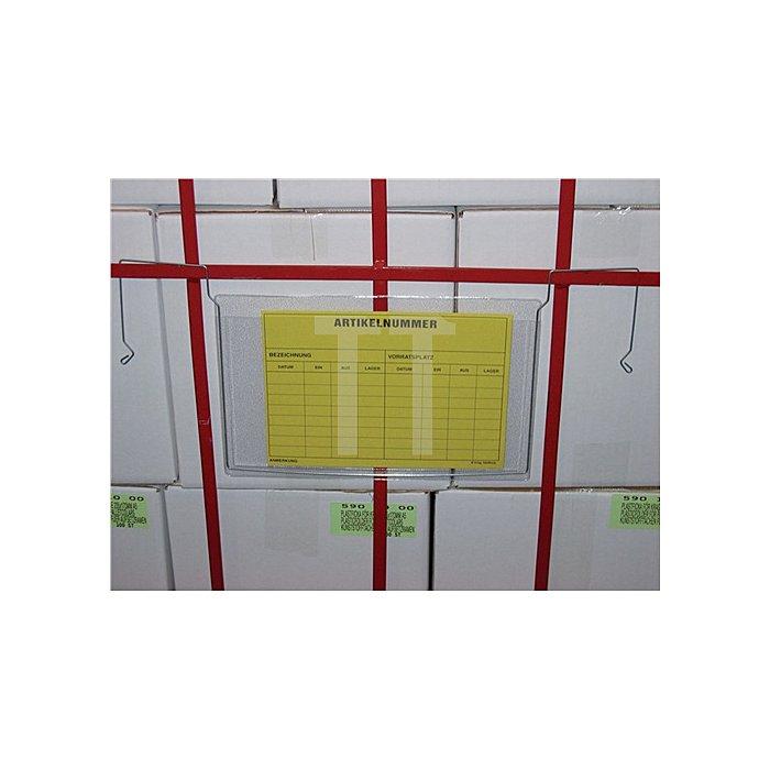 Drahtbügeltasche DIN A4 hochkant B280xH325mm 100St./VE