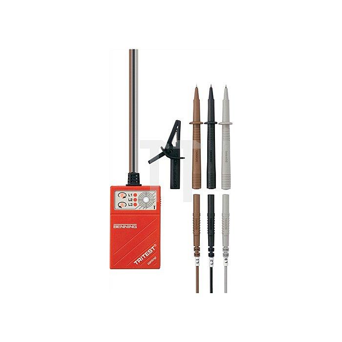 Drehfeldrichtungsprüfer Tritest Control 400-690V/AC BENNING m.LED