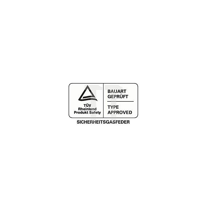 Drehhocker m.Rollen Kunstleder Sitz-H.420-550mm Sitz-D.360mm