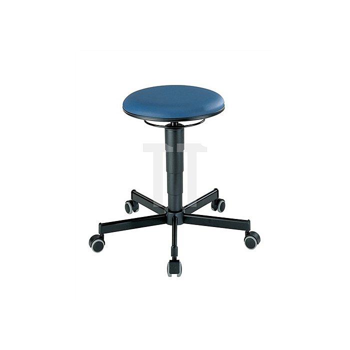 Drehhocker m.Rollen Kunstleder Sitz-H.460-630mm Sitz-D.350mm BIMOS