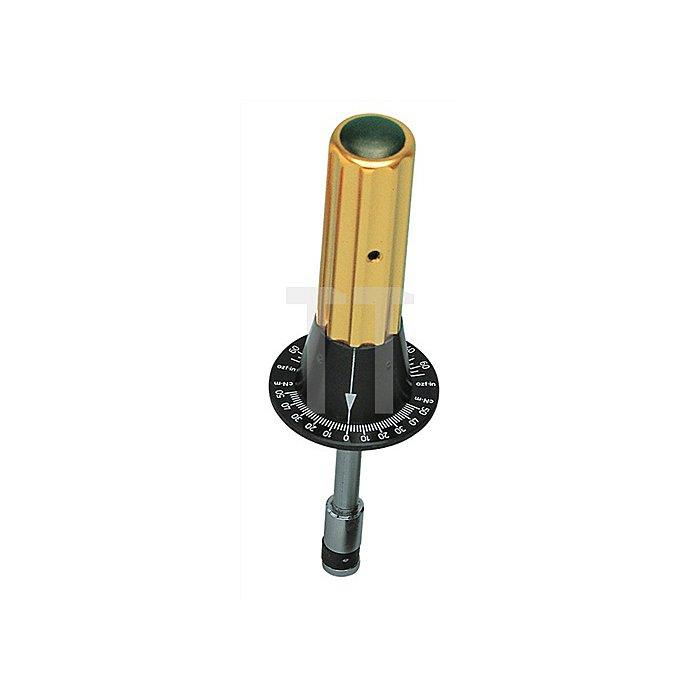 Drehmoment-Prüfschrauber 1/4Zoll 10-50cNm SP eloxierte Aluminiumgriffe