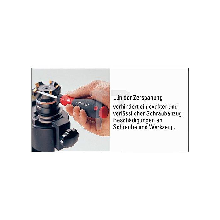 Drehmomentschraubendreher 0,4-1Nm einstellbar Griff-L.127mm 6%Genauigkeit Skala