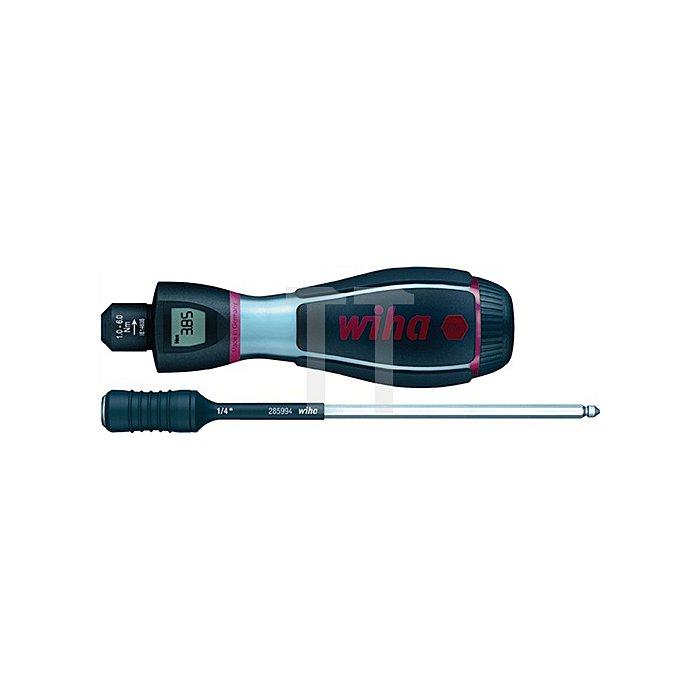 Drehmomentschraubendreher 0,8-3Nm einstellbar Griff-L.134mm 6%Genauigkeit