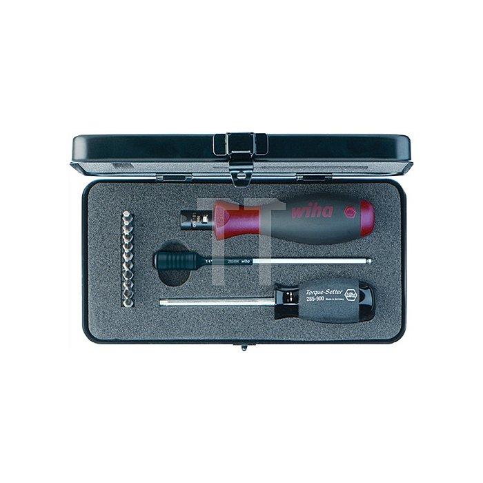 Drehmomentschraubendrehersatz 13tlg. PH 1/2/PZD 1/2/TX 10/15/20/25 6%Genauigkeit