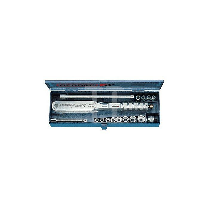 Dremometer 1/4 Zoll 6-30Nm AMmm Garnitur metrisch Doppel-4KT