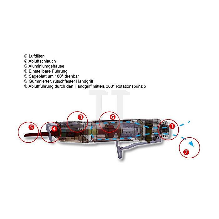 Druckluft - Karosseriesäge