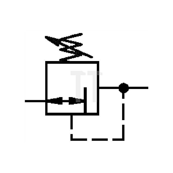 Druckregler Gewinde G 1/4 Regel- bereich bar 0,5 - 10