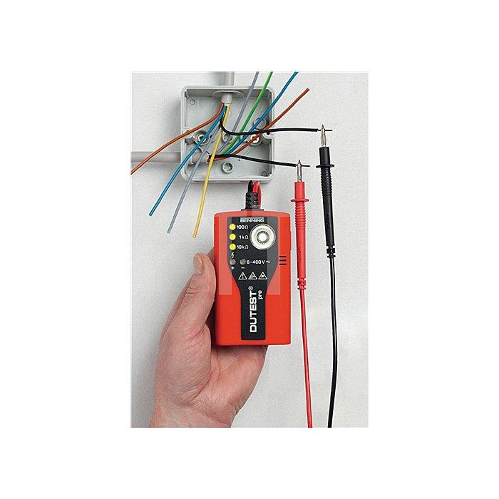 Durchgangs-/Leitungsprüfer LED/Prüfsummer/LED-Leuchte LED Leuchte Gürtelclip