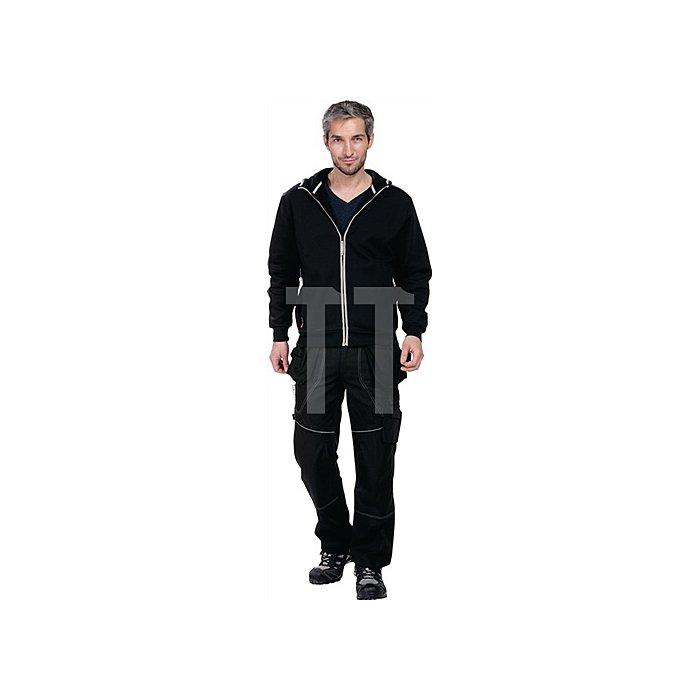 Edge Kapuzen-Sweatshirt Gr.L Schwarz 65% Polyester / 35% Baumwolle