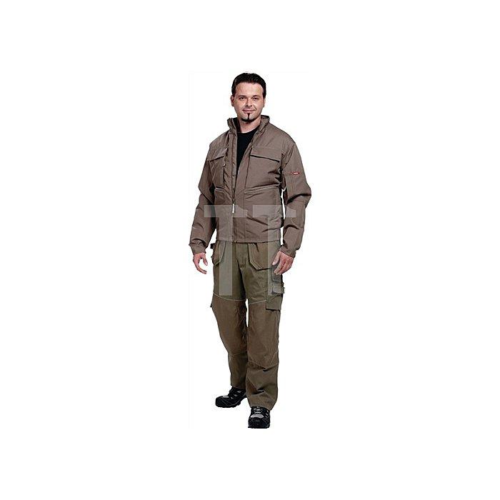 Edge Pilotjacke Gr.L Skater Khaki 87% Polyester / 13% Polymax
