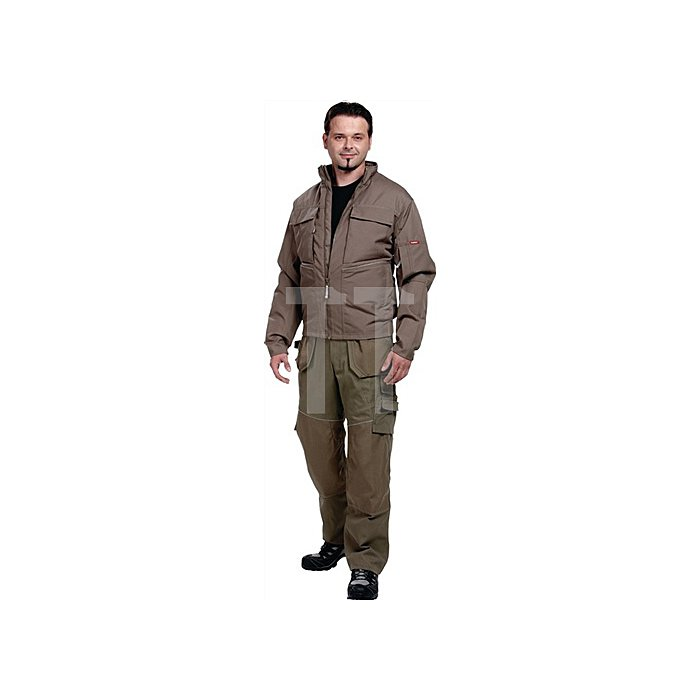Edge Pilotjacke Gr.M Skater Khaki 87% Polyester / 13% Polymax