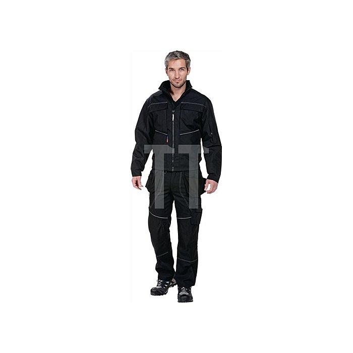 Edge Pilotjacke Gr.XXL Schwarz 87% Polyester / 13% Polymax