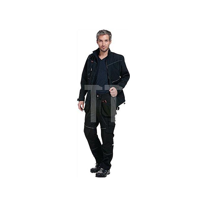 Edge Softshell-Jacke Gr.XL Schwarz 83% Polyester / 17% Polyurethan