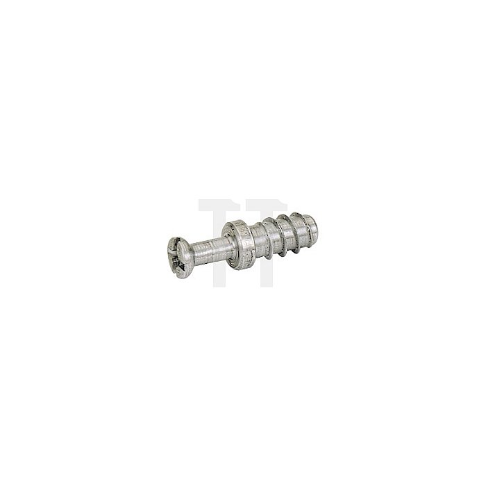 Einschraubdübel DU265 / 025052 Spannmaß 9mm Stahl blank