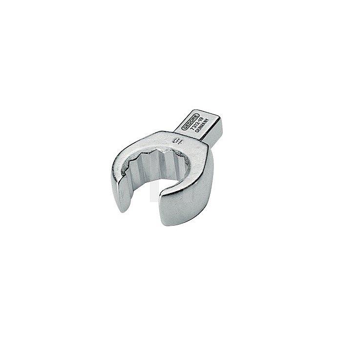 Einsteckringschlüssel 13mm offen matt Chrom CV. 7312-13