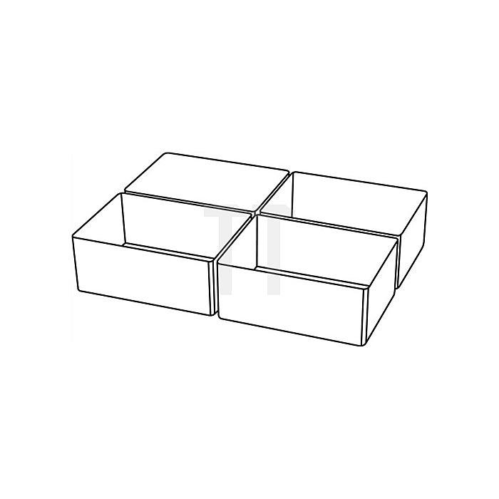 Einteilungsset 4tlg. transp. B.79xT.109xH.47mm f.Art.-Nr.871325-871332