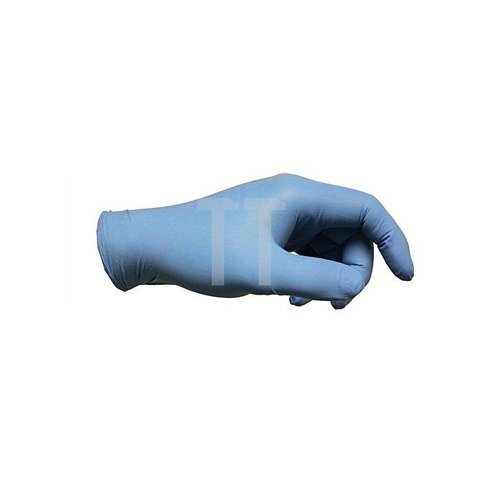 Einweghandschuhe EN374 Kat.III VersaTouch 92-200 Gr. 7,5-8 Nitril blau puderfrei