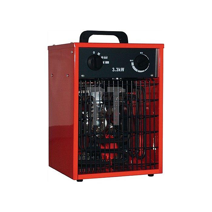 Elektroheizer IFH01-33H L250xB250xH390 mm Gewicht 5,6 kg Heizleistung 1,5/3,0kW
