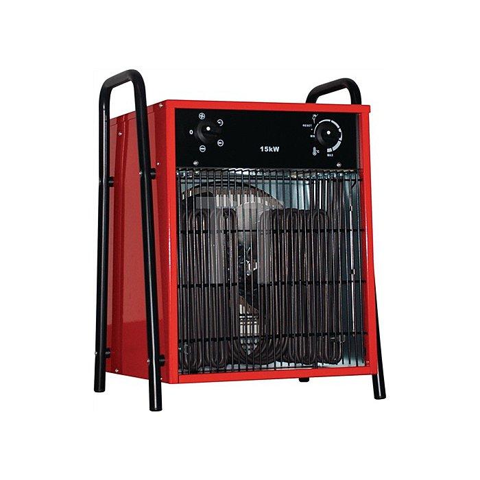 Elektroheizer IFH03-150 L370xB430xH555mm Gewicht 13,8kg Heizleistung 5/10/15kW
