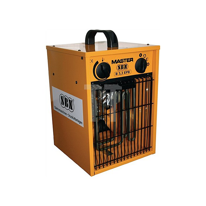 Elektroheizer SBN Master B 3,3 B255xH360xL255mm Gewicht 5,1kg Heizleistung 1,65/