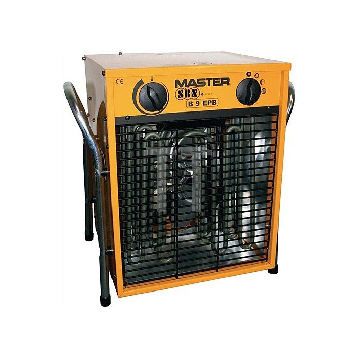 Elektroheizer SBN Master B 9 B305xH385xL275mm Gewicht 13kg Heizleistung 4,5/9,0