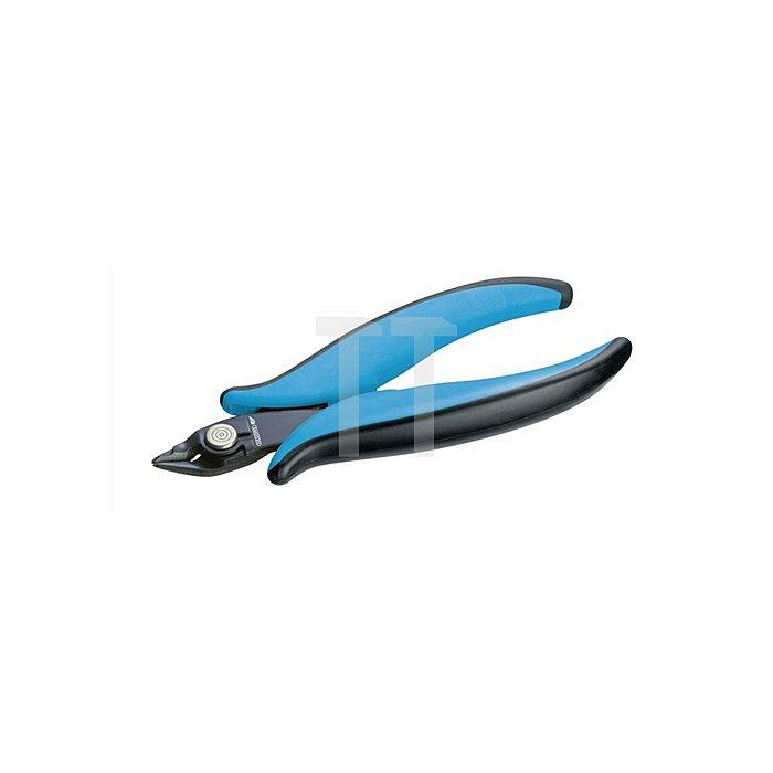 Elektronik-Seitenschneider 8350-9 breit/spitz 2K-Griff 138mm AWG18/AWG16 Gedore