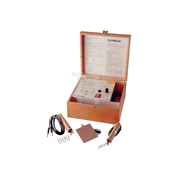 Elektroschreiber 230V 240x190x110mm m.Griffel/Masseplatte m.3Elektroden