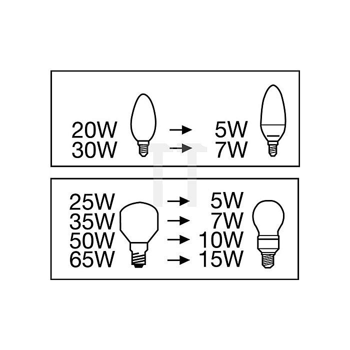 Energiesparlampe Dulux 11W E27 EL Economy Classic OSRAM D.60m