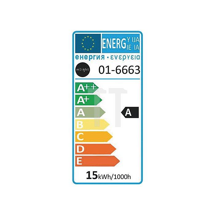 Energiesparlampe L.145mm 15W E27 2Röhren