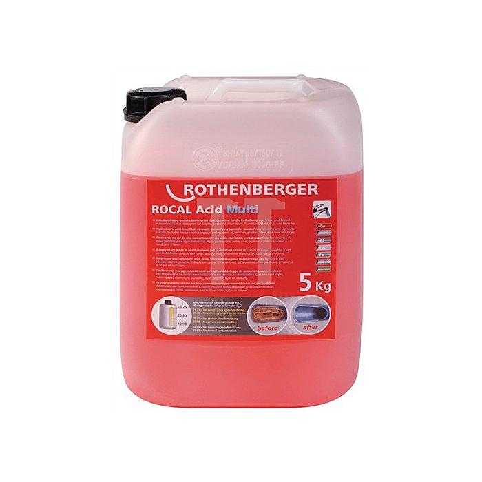 Entkalkungsmittel ROCAL Acid Multi 10 kg f. Kupfer Stahl VA Rothenberger