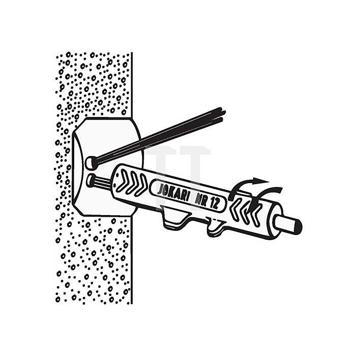 Entmantler Nr.12 L.125mm D.8-13mm Jokari