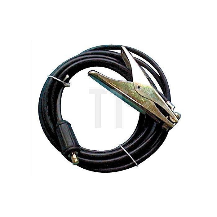 Erdungsklemme 200A 4m konfektioniert Kupferkabel H01N2-D Ø=25mm2 m. Stecker KS25