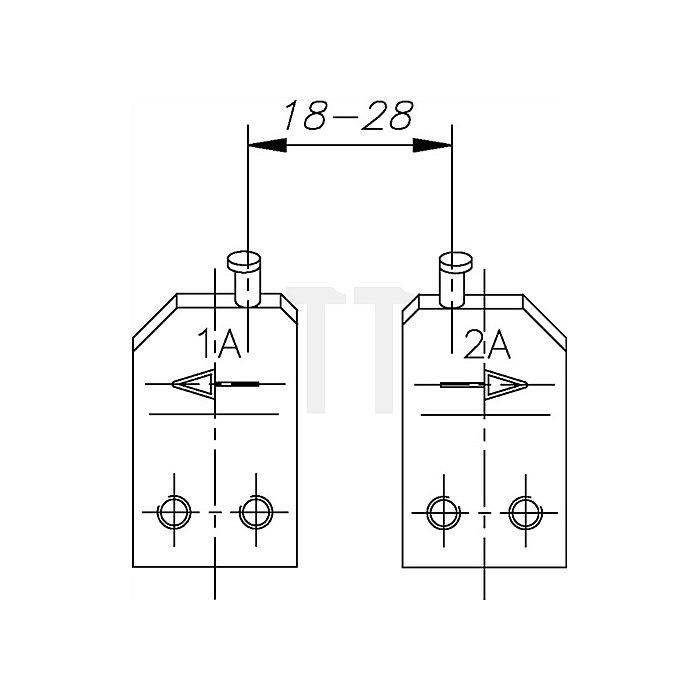 Ersatzspitze E-8005 4 A Ersatzteil für Sicherungsringe 20-50mm Gedore