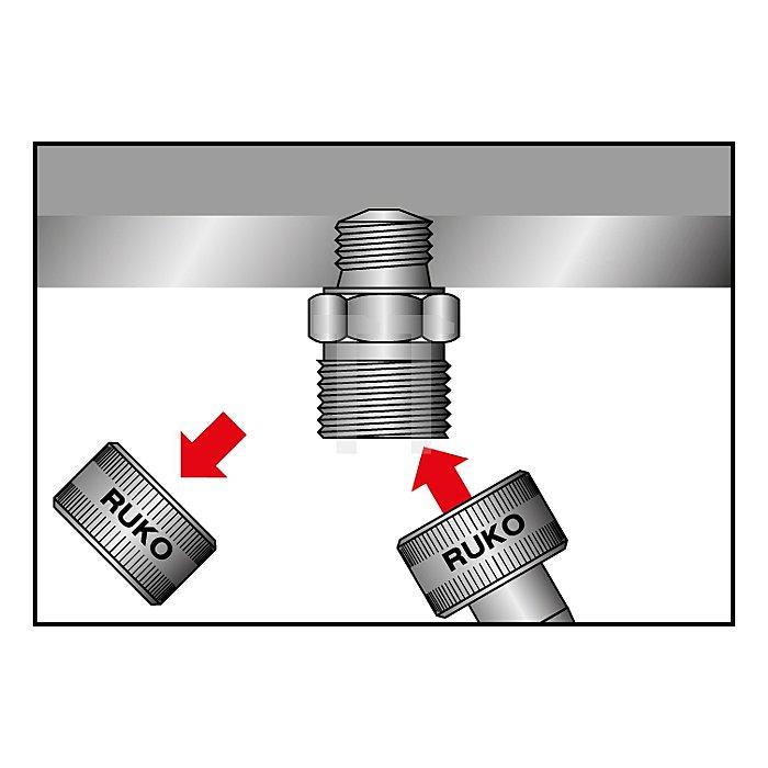 Ersatzstaubschutzkappe für Ventilschrauben M 24 - M 38