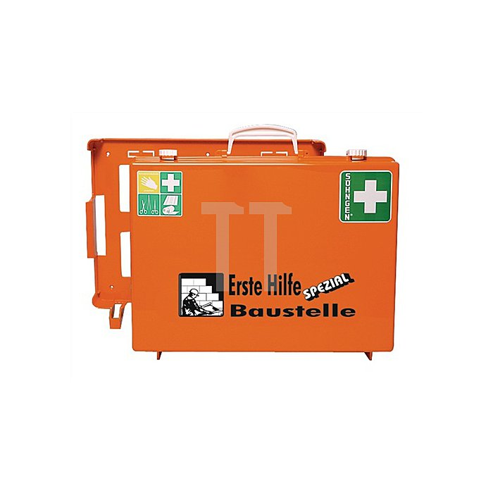Erste-Hilfe-Koffer Baustelle SÖHNGEN DIN13157 plus Erw. 400x300x150mm