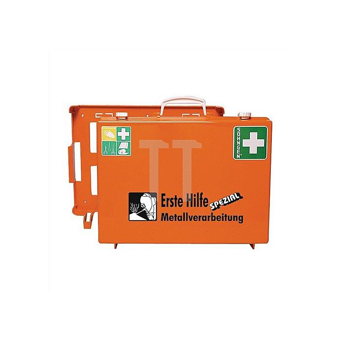 Erste-Hillfe-Koffer Metallbearbeitung SÖHNGEN DIN13157 plus Erw. 400x300xmm