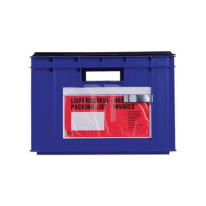 Etikettenklammern verzinkt f.Transportstapelkasten 25St./Karton