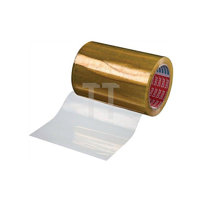 Etikettenschutzfolie 4204 Länge 66m Breite 150mm transparent PVC-Folie tesa