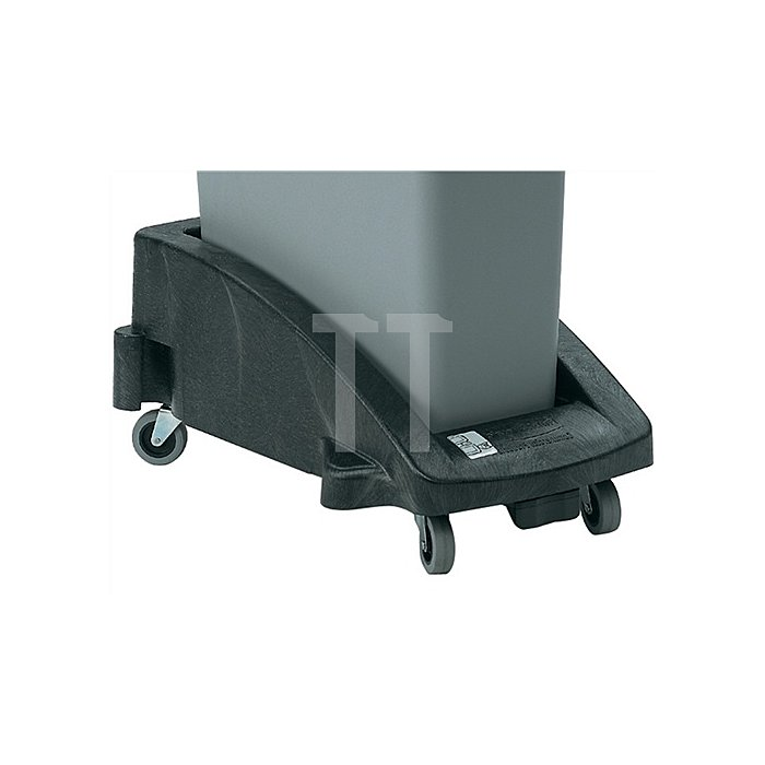 Fahrgestell schwarz f.Wertstoffsam. H.280xB.380xT.600mm