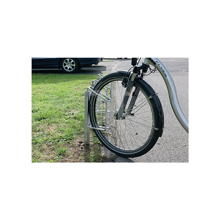 Fahrradklemmbügel 1er 90Grad verz. H.780xB.68xT.225mm 1seitig
