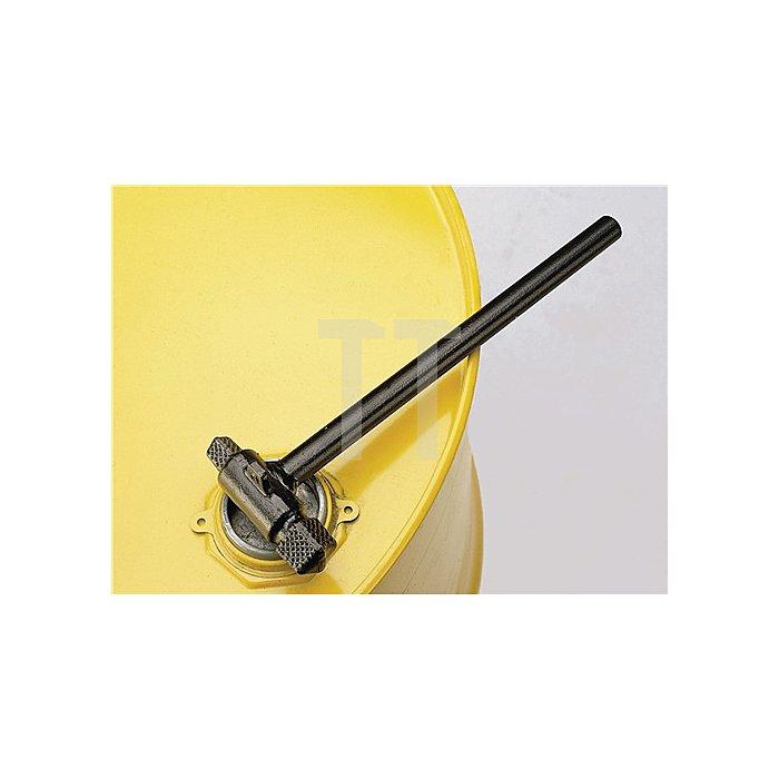 Fassspundschlüssel L.300mm schwarz lackiert