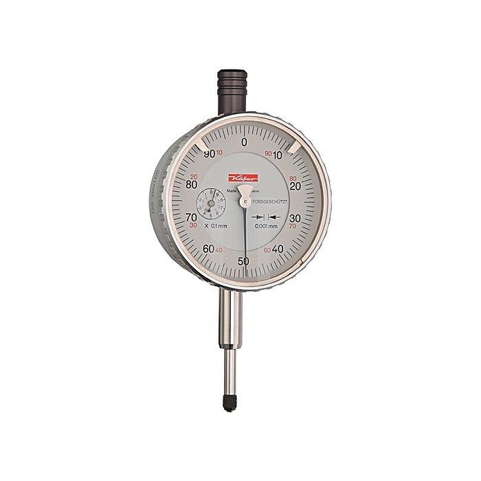 Feinmessuhr FM1101 1mm Ablesung 0,001mm m.Stoßschutz