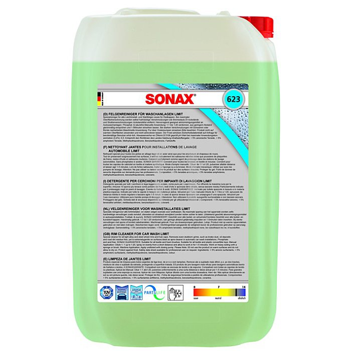 FelgenReiniger für Waschanlagen säurefrei Felgen Reiniger 25 Liter