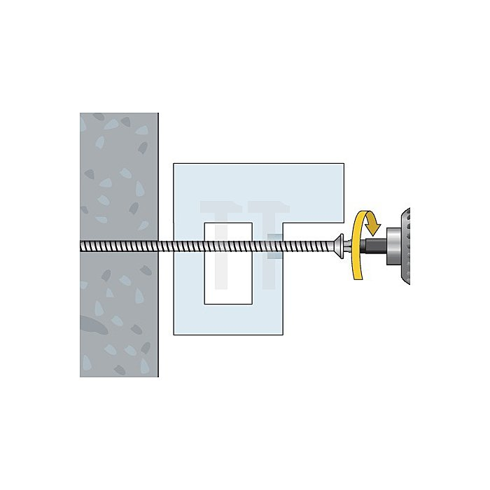 Fensterbauschraube FBS 7,5x112 Toss Torx Schraube TX 30 apolo MEA