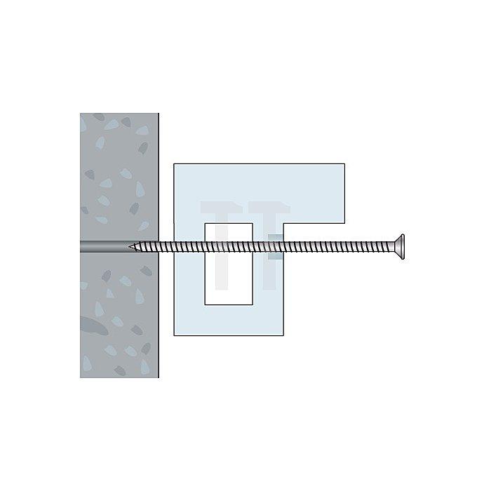 Fensterbauschraube FBS-Z 7,5x132 Toss Torx Schraube TX 30 apolo MEA