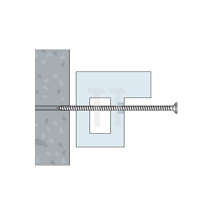 Fensterbauschraube FBS-Z 7,5x72 Toss Torx Schraube TX 30 apolo MEA