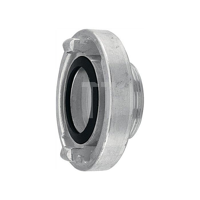 Festkupplung B75 2 1/2Zoll außen System Storz